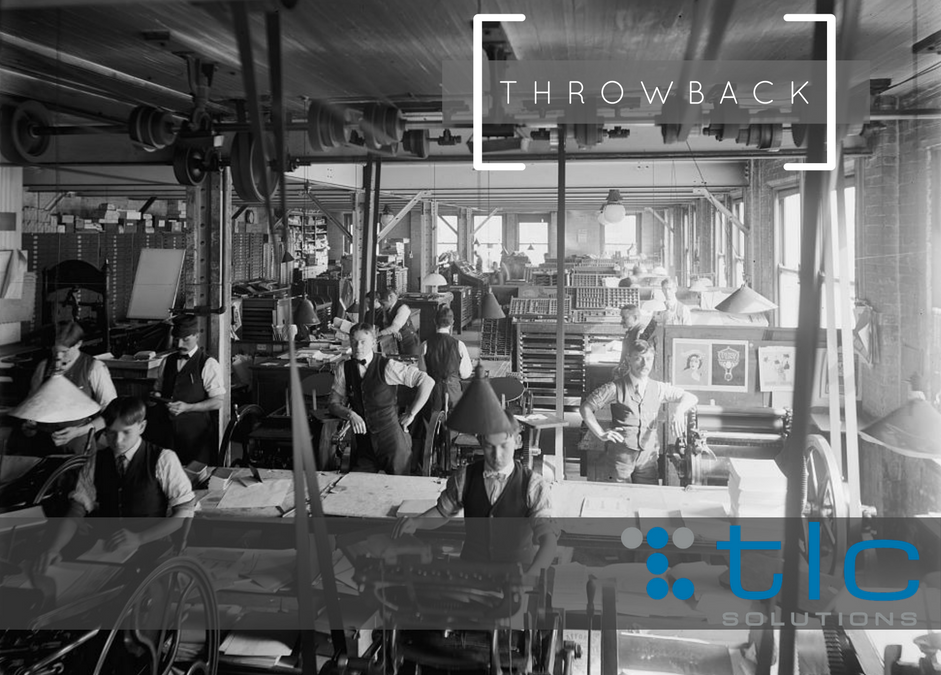 Throwback Thursday – The Printing Press