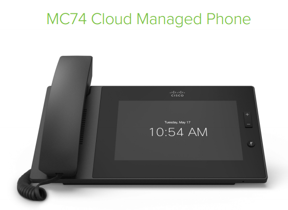 Cisco Meraki MC74, a VoIP Phone in an Elegant Design