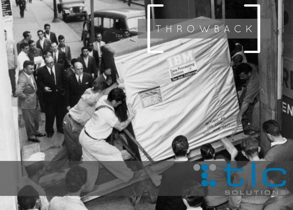 Throwback Thursday – 5 MB of Storage in 1950s